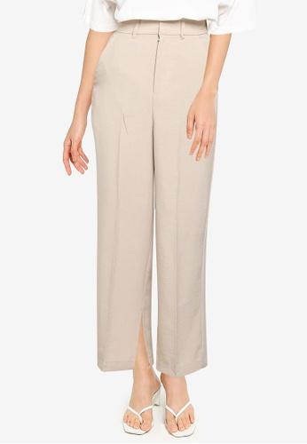 JEANASIS brown Casual Pants 6E829AA3177AD2GS_1