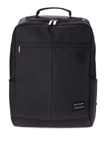Giles N Brooks black Kyung-soo Backpack GI308AC0KFXHPH_1