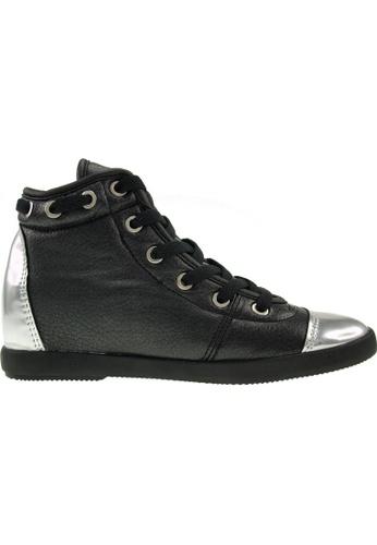 Maxstar black Maxstar Women's 020 Hidden Heel PU High Top Casual Shoes US Women Size MA164SH82PUZSG_1