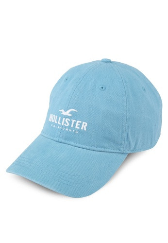 Hollister blue Brand Logo Cap HO422AC0T1AUMY_1