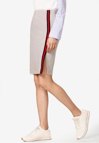 ESPRIT grey Knitted Mini Skirt 5D71AAA5D79C97GS_1