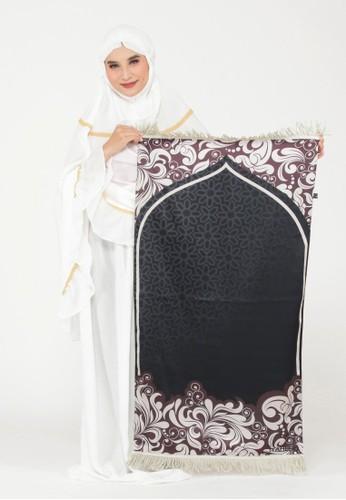 SYAHEERA black Sajadah Syaheera Artsy - Calm Black 3A455AA1BD5554GS_1