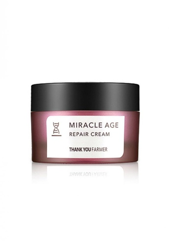 Thank You Farmer white THANK YOU FARMER Miracle Age Repair Cream 50ml TH577BE07MRSMY_1