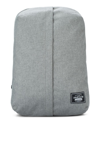 Chocollection grey Gear Backpack CH825AC33GTIHK_1