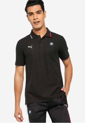 PUMA black BMW M Motorsport Men's Polo Shirt 50F5AAAEE0D7DCGS_1