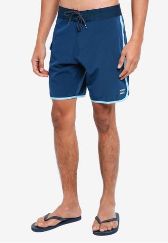 Billabong 海軍藍色 雙色海灘褲 7DD7FAA9FEDA3BGS_1