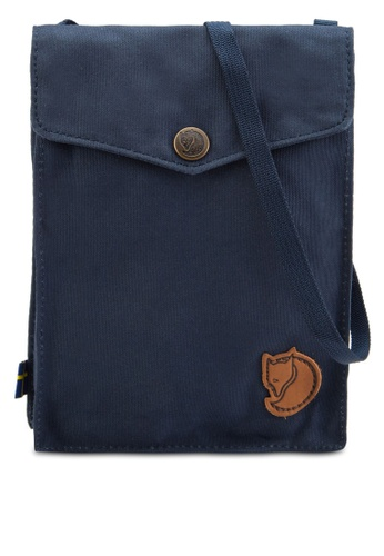 Buy Fjallraven Kanken Navy Pocket Sling Bag | ZALORA Singapore