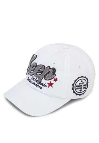 文字刺繡棒球鴨舌帽, 飾品esprit outlet配件, 鴨舌帽