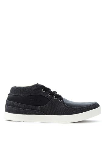 Fila black Yaktrax 2 Sneakers FI683SH02VEBPH_1