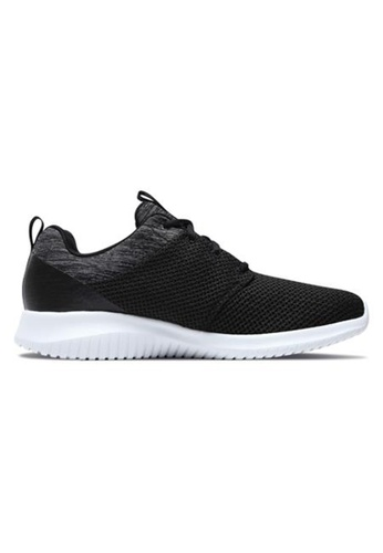 Skechers black Ultra Flex 97DFESH55E16F6GS_1
