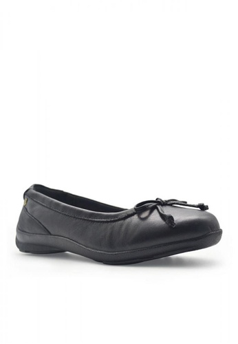 Hush Puppies black Kid's Casual Shoes Adene Bow 375E1KSE3DEF15GS_1