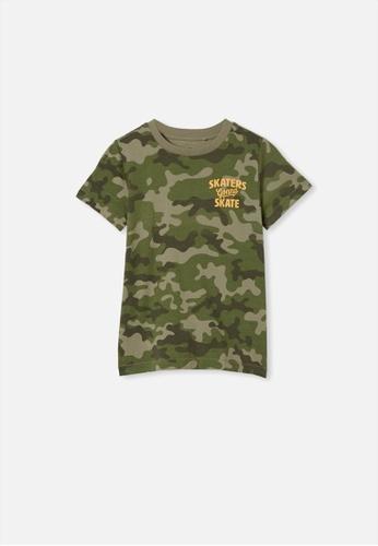 Cotton On Kids green Max Short Sleeve Tee 05600KAF5FF805GS_1