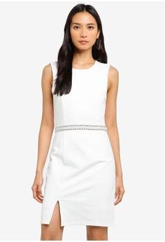 dca01712020 Dressing Paula white Embellished Roma Dress 3CE42AAA37D8BAGS 1