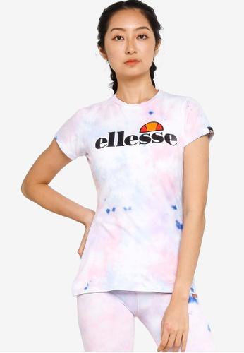 ellesse multi Hayes Tie Dye T-shirt 6A0BDAA523AA43GS_1