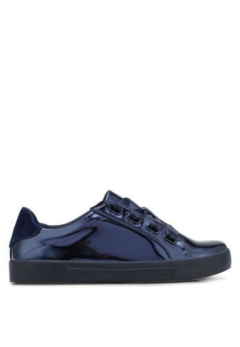 Call It Spring blue and navy Legeasien Sneakers CA512SH0SFD4MY_1