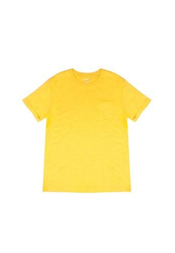 FOX Kids & Baby yellow Essential Pocket T-Shirt A02A4KAF659891GS_1