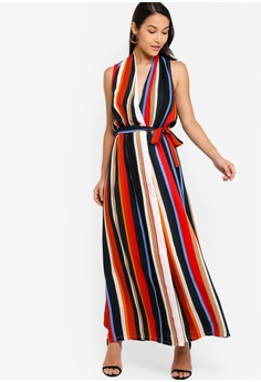 be1552dd1b 38% OFF ZALORA Sleeveless Wrap Self Tie Dress S$ 39.90 NOW S$ 24.90 Sizes  XS S M L XL
