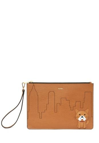 BONIA brown Brown Bella Mini iPad Pouch 570D8ACF7F03EEGS_1