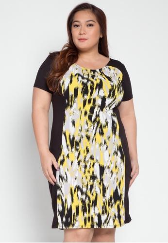 Lulu multi Plus Size Dolly Dress LU439AA0KL2HPH_1