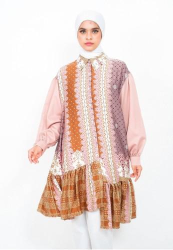 My Daily Hijab pink Morena Tunik Pale Pink 44B69AA1BE0508GS_1