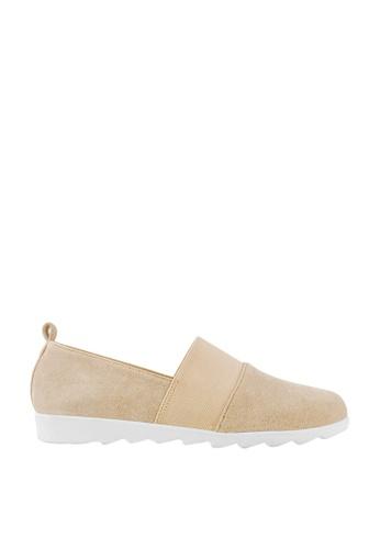 CO BLANC beige CO BLANC Slip On Loafers 4CF89SH9E93356GS_1