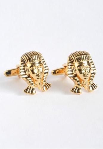 Splice Cufflinks Pharaoh King Tut Mask Cufflinks SP744AC10XYVSG_1