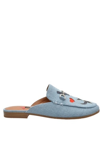 Nine West blue NWWISPIN Mules 6C039SH7EBDD76GS_1