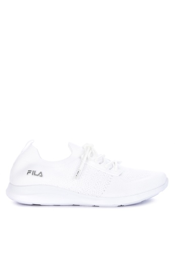 Fila white Decent Running Shoes DF56ASH0DE478FGS_1