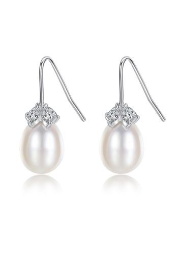 SUNRAIS silver High-grade colored stone silver fashion earrings 842EDACC54CB48GS_1