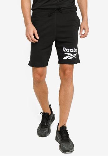 Reebok 黑色 Identity Big Logo 短褲 2CEDCAA831137BGS_1