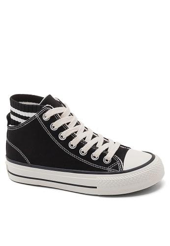 Twenty Eight Shoes Socking Design Canvas Sneakers BE8856 185C5SH96373B5GS_1