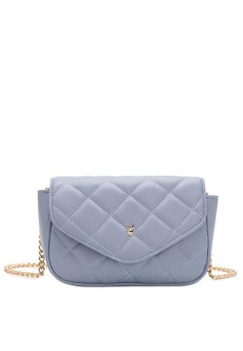 PLAYBOY BUNNY blue Women's Sling Bag / Shoulder Bag / Crossbody Bag CAAAEAC9B0C1EFGS_1