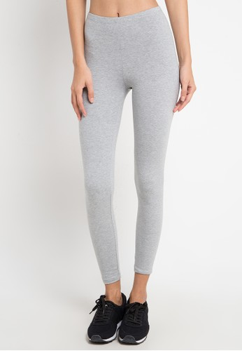 Opelon grey Opelon Celana Olahraga Wanita - Legging Heather Grey 29A58AA7E23A75GS_1