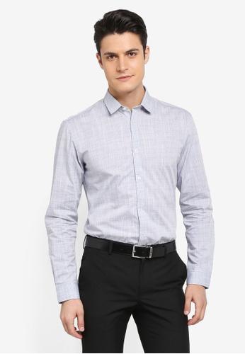 Selected Homme grey Onekarter Shirt Mix F825AAA7DA9AADGS_1