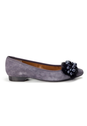 Shu Talk purple LeccaLecca Furry Charms Pointy Flats 59DADSH4FD7770GS_1