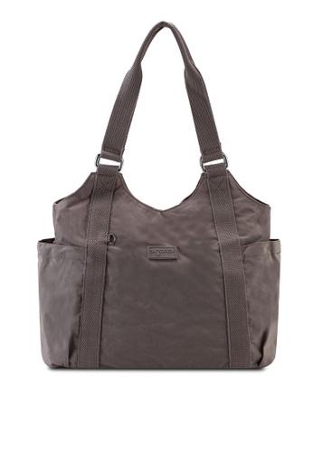 Bagstationz brown Crinkled Nylon Shoulder Bag C1C23ACD84397EGS_1