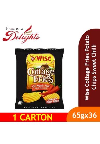 Prestigio Delights Wise Cottage Fries Potato Chips Sweet Chilli 65g x 36 Packs (1 Carton) 68F40ES5FFAD9BGS_1