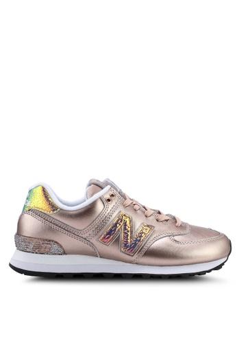 1c03429b3ede1 Buy New Balance 574 Glitter Punk Shoes Online on ZALORA Singapore