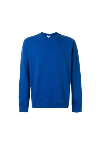 Kenzo blue Kenzo LETTERING LOGO Sweatshirt in Blue 857A3AA06D2C96GS_1