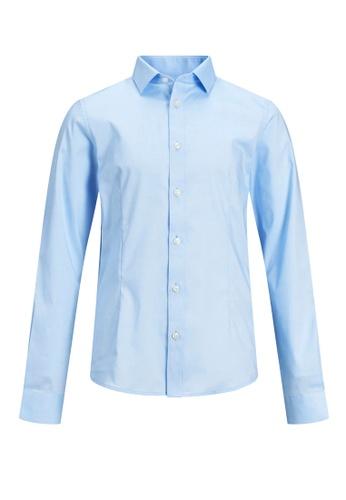 Jack & Jones blue Parma Long Sleeves Shirt 88027KA596045CGS_1