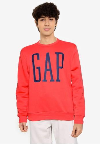 Gap red V-Lw Db Logo Flc 6CC33AAC2D410CGS_1