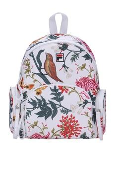 Fila white FILA x Jason Wu Floral-print Backpack 33217AC33D333FGS 1 c04e8ea59fda9