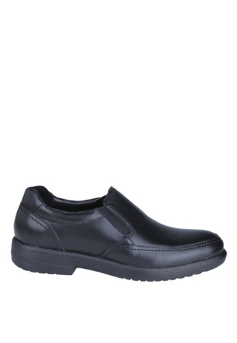 Hush Puppies Sepatu Slip On Pria Reign Slip On - Black