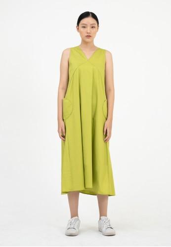 NULT green Nult Aphronsia Dress 2CBF6AA383E4A9GS_1