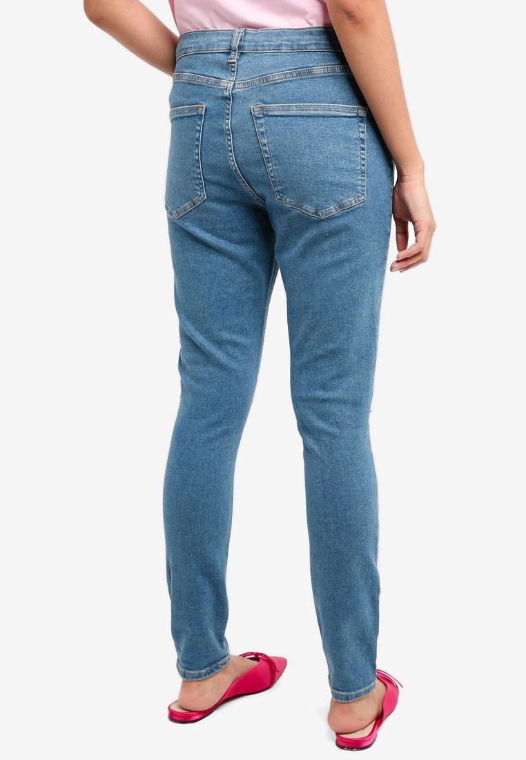 Green Rip Jeans Jamie TOPSHOP Blue Blue Green 4Yw8Y1qT