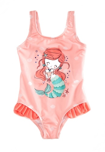 LC Waikiki pink Baby Girl Swimsuit In Flexible Fabric 102D8KAAF75A5CGS_1