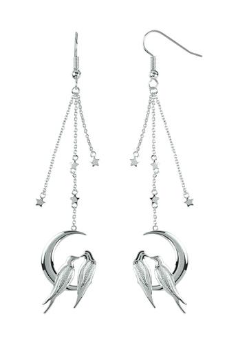 Sara Miller silver Sara Miller - Moonlight Drop Earring - Silver (SAJ1003) E7483ACF13D11DGS_1
