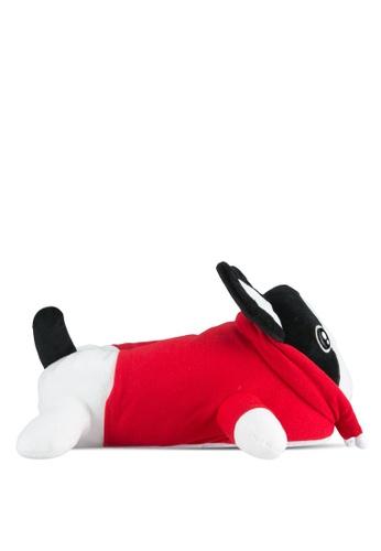 TOPSHOP multi Monty Bulldog Slippers TO412SH0SHHRMY_1