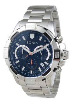 Bonia B10140-1332C - Jam Tangan Pria - Silver