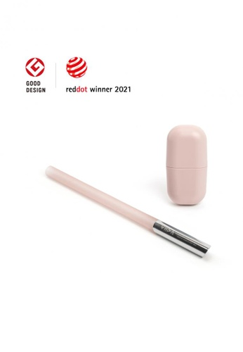 Viida [VIIDA] Morgen UiU Collapsible and Reusable Straw, ROSE (M Series) 1.2cm, Premium 316 Stainless Steel & Silicone body - 6 Colors Available C1EDFHL1EE6829GS_1